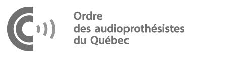 Logo de l'Ordre des audioprothésistes du Québec