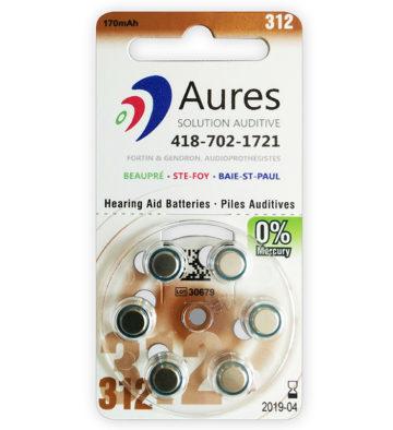 Image pile #312 pour appareils auditifs