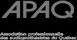 Logo de l'Association professionnelle des audioprothésistes du Québec