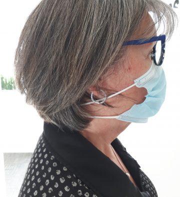 Comment porter votre protège-oreilles et le masque de protection | Accessoires - Aures Fortin & Gendron, audioprothésistes