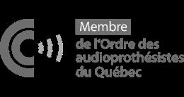 Prenez rendez-vous avec nos professionnels, membres de l'Ordre des audioprothésistes du Québec